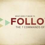 7 algemene geboden van Jezus