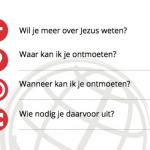 De 4 vragen die je stelt na praten over Jezus